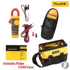 Fluke 325 True RMS Digital Clamp Meter with C23 Case plus C550 Large Tool Bag