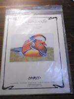 DIMPLES Design Chart - SNICKERDOODLE Mandarin Wood Duck - Terrence P. Nolan