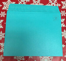 Set Lot Of 25 Authentic Tiffany & Co. Blue Teal Mailing Envelopes