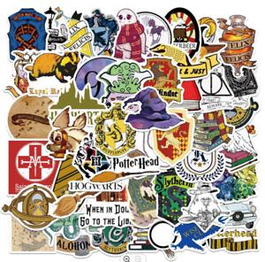Harry Potter Stickers 50 Set Decal Sticker Lot New