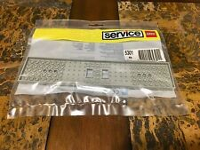LEGO 5301 TRAIN REPLACEMENT WAGON PLATE 6 X 28 LIGHT GRAY NEW SEALED VERY RARE!