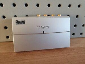CREATIVE SOUND BLASTER SB0270 MP3 PLUS EXTERNAL SOUND CARD SYSTEM