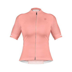 ZOL CYCLING BREATHABLE RACE FIT JERSEY PINK (WOMEN)