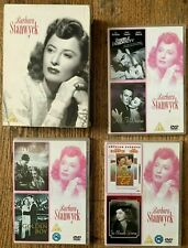 Barbara Stanwyck Screen Goddess 6 DVD Region 2 box set (read!). OOP Free ship.