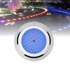 New listing 18W Rgb multi-color12V 230mm Resin Filled 252Led swimming PoolLight StainlessNew