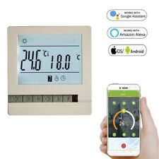 110V 120V 230V Electric WiFi Thermostat Temperature Controller Works with Alexa