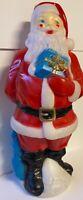 "Vintage Original Christmas Empire Plastics Corp. ""Santa Clause""; Blow Mold 1971"