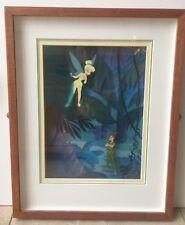 Disney Sericel Cel Ltd Ed Making Mischief Depicting Peter Pan & Tinker Bell