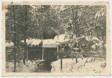 Foto Russland-Feldzug Bunker-Schild: Nachrichtenzug 1944  2.WK (t02)