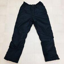 Norska Ski Snow Winter Sports Pants Black Zipper Velcro Unisex Insulated Medium