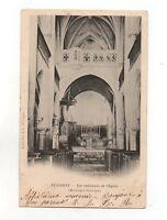 Flavigny - Ansicht Innen- von der Kirche (J551)