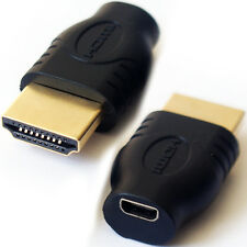 HDMI Type A Male to Mini D Female/Socket Adapter Converter - High Speed 4K Video
