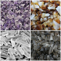 1/2 lb Bulk Mix Amethyst + Citrine + Smokey + Clear Quartz Crystal Points (8 oz)