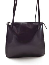 Furla Women's Brown Patent Leather Shoulder Bag