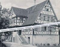 Eichelberg im Sulm - und Weinsberger Tal - Löwensteiner Berge  um 1955   K 14-15