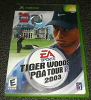 EA SPORTS TIGER WOODS PGA TOUR 2003 - XBOX - MISSING MANUAL - FREE S/H - (BB)