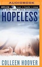 Hopeless by Colleen Hoover (2014, MP3 CD, Unabridged)