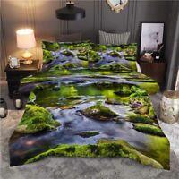 Meditation Empty 3D Printing Duvet Quilt Doona Covers Pillow Case Bedding Sets