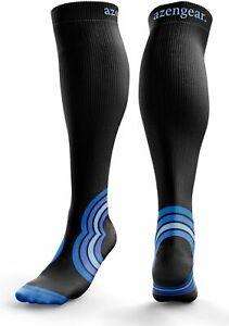 Compression Socks for Men & Women (20-30 mmHg) Anti DVT Flight Travel Stockings