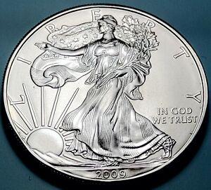 2009 American Eagle Silver Dollar 1 Oz Fine Silver Uncirculated Sealed Case NICE