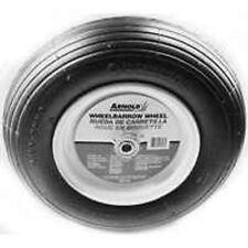 """NEW ARNOLD WB-438 WHEELBARROW 8"""" RIBBED TIRE & WHEEL 480/400 8071599"""