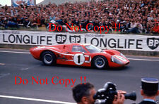 GURNEY & Foyt Shelby American FORD GT40 Vincitori Le Mans 1967 fotografia 1