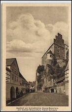 Wiesentfels Bayern Postkarte ~1920/30 Strassen Partie Gasthof Schloßmühle Schloß