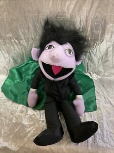 The Count Plush Puppet Sesame Street Applause NEW Tagless Scratched Eye