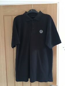 Dickies For Volkswagen Polo Shirt M Worn Washed Clean Few Marks Stains Faded