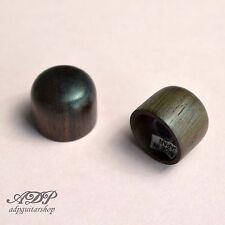 2 x BOUTONS PALISSANDRE TELECASTER® axe 6mm Split shaft TELE ROSEWOOD DOME KNOB
