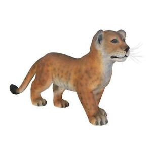 Design Toscano The Grand-Scale Lion Cub Statue: Standing