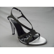 GUESS BY MARCIANO Ladies Sandals Shoes Heels Grey Rubber Boxed Eur 39 UK 6 New