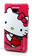 for samsung galaxy s2 S II i9100 and i777  friendship case pink white