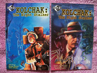 Kolchak The Night Stalker and Fever Pitch, Moonstone, two TPBs