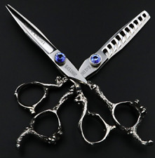 Professional Hairdressing Scissors Thinning Scissors Barber Scissors Set 6