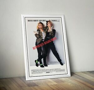 Madonna Desperately Seeking Susan Reproduction Movie Poster Print Wall Art 1980s