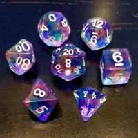 Cherry Blossom  Dice ~ 7 piece Polyhedral dice set ~ NEW RPG DnD Magic HDC 01