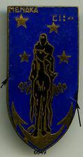 Insigne troupes coloniales ,  Gpe.  Nomade de la  MENAKA