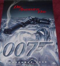 Cinema Poster: JAMES BOND DIE ANOTHER DAY 2002 (Gun Advance One Sheet)