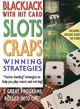 1 CENT DVD Blackjack With Hit Card, Slots, Craps: Winning Strategies
