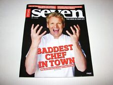 Vegas Seven Magazine Gordon Ramsay Baddest Master Chef In Town NEW