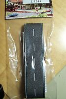 Z scale Busch ASPHALT Country Road with White markings # 7081