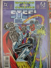 "Worlds Collide #6 ""Steel"" Simonson Batista Faber DC Comics July 1994"