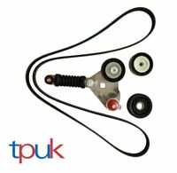 FORD MONDEO 2.0 JAGUAR X TYPE ALTERNATOR FAN DRIVE BELT TENSIONER PULLEY KIT