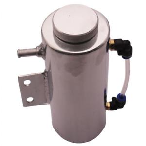 Auto 500ML Aluminum Overflow Coolant Tank Reservoir Cooling Radiator Water Catch