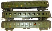 3X SNCF A MyFi 50471 +5287 dmyi 54351 Metal Wagons H0 1:87 ORIGINAL PACKAGING