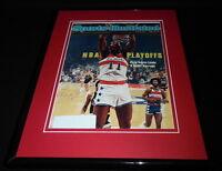 Elvin Hayes Signed Framed 1978 Sports Illustrated Magazine Cover Bullets