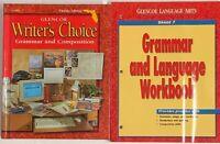 Grade 7 Language Arts Bundle Homeschool Curriculum 7th Grammar Writing English