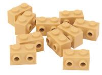 LEGO - 10 x Konverter Stein / Konverterstein 1x2 beige / Tan / 11211 NEUWARE