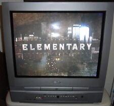 "Symphonic 20"" Silver CRT TV Built in DVD Player Combo WF20D4"